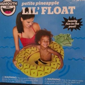 Big Mouth Pineapple Lil' Float